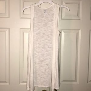 New York & Company sleeveless cardigan
